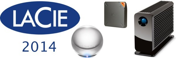 lacie ces 2014 - LaCie présente Fuel, Little Big Disk Thunderbolt 2 et Sphère