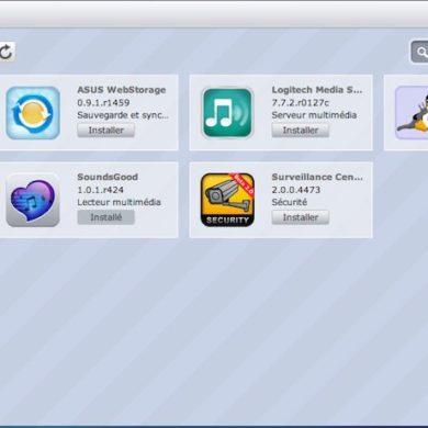 optware ipkg soundsgood asustor 390x390 - AiMusic et Optware IPKG chez ASUSTOR