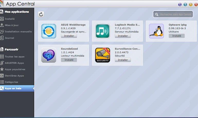 optware ipkg soundsgood asustor 770x461 - AiMusic et Optware IPKG chez ASUSTOR