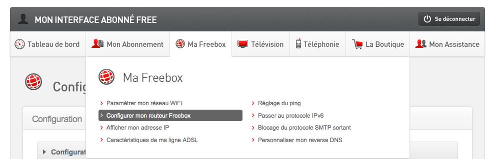 Ma Freebox - VPN et NAS Synology