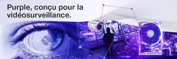 WD Purple - WD Purple, les disques durs dédiés à la vidéosurveillance
