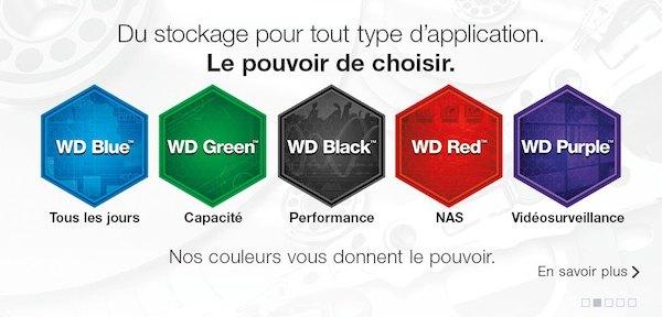 Western Digital - WD Purple, les disques durs dédiés à la vidéosurveillance