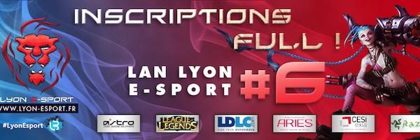 lyon esport1 - 6e édition du Lyon e-Sport : 7, 8 et 9 mars