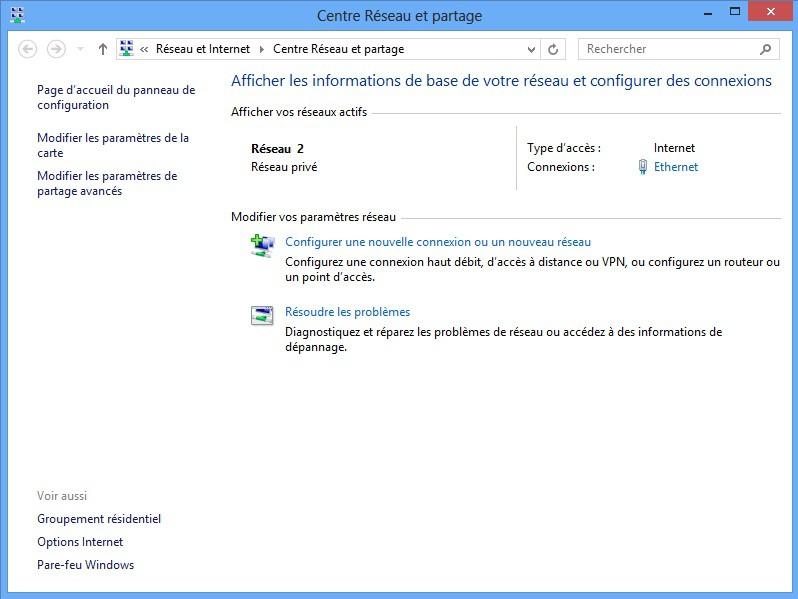 reseau internet partage - VPN et NAS Synology