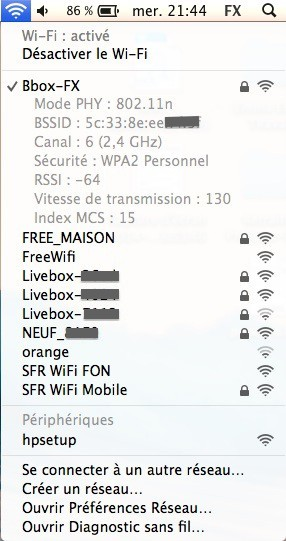 WiFi options - MAC – Comment optimiser son WiFi ?
