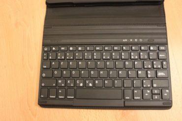 calvier 370x247 - Test de claviers pour iPad Kensington