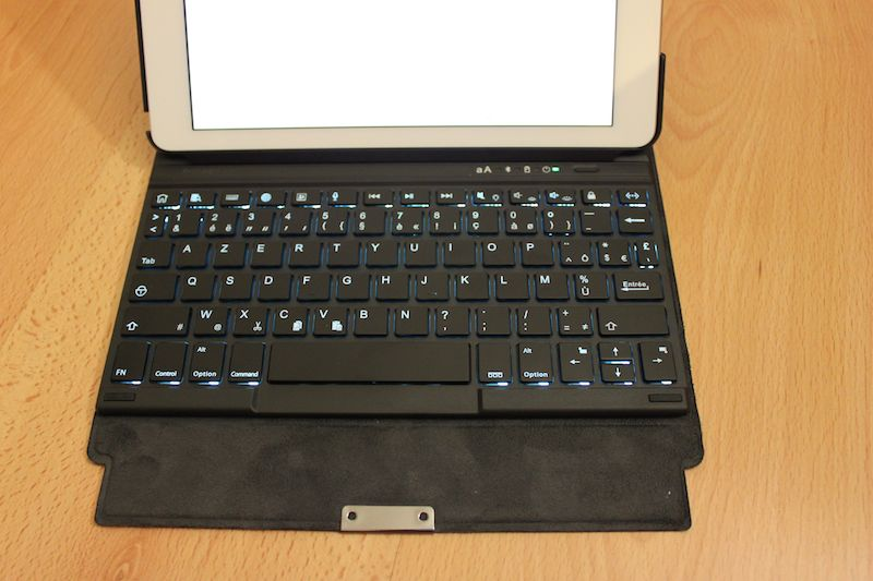 clavier eclaire - Test de claviers pour iPad Kensington