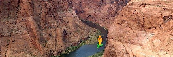 colorado pegman - Google vous propose de naviguer sur les fleuves