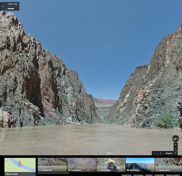 colorado river - Google vous propose de naviguer sur les fleuves