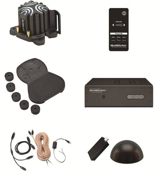 contenu kit vibreur canape - Mon avis sur le kit ButtKicker sans fil