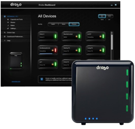 drobo-applications