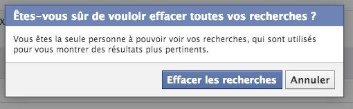 nsa facebook - Voir et effacer votre historique de recherche Facebook en 2 minutes