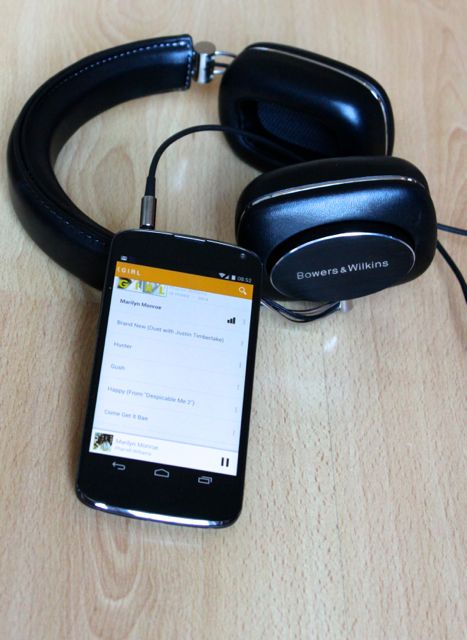 p7 android - Test du casque Bowers & Wilkins P7