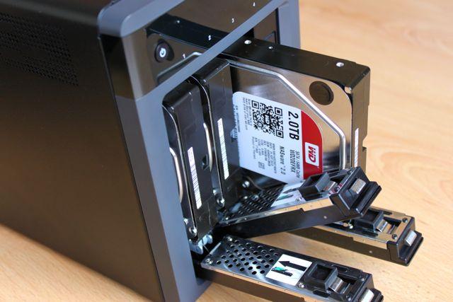 rack disque dur - Test NAS - WD MyCloud EX4