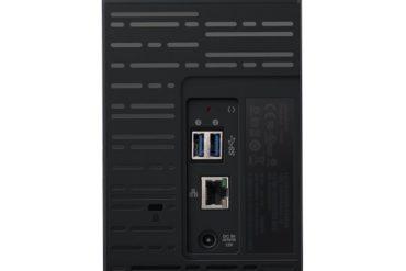 wd MyCloud EX2 back 370x247 - WD lance un NAS 2 baies à partir de 199€