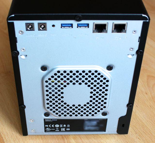 wd mycloudex4 back - Test NAS - WD MyCloud EX4