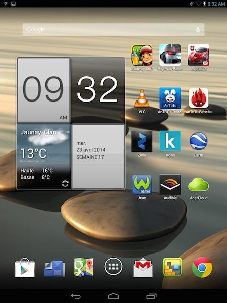 acer Acer Iconia A1 830 - Test de la tablette Acer Iconia A1-830