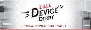 device derby open lab 293x97 - Mon avis sur Open Device Lab Lille du 24-04-2014