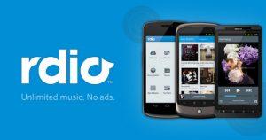 rdio big 300x158 - Chromecast, des applications ?