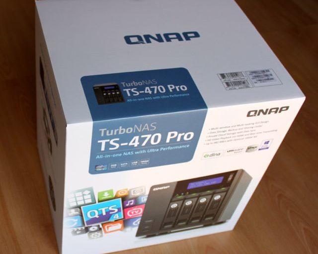 boitier nas qnap ts 470 pro 640x513 - Test NAS - QNAP TS-470 Pro, époustouflant !