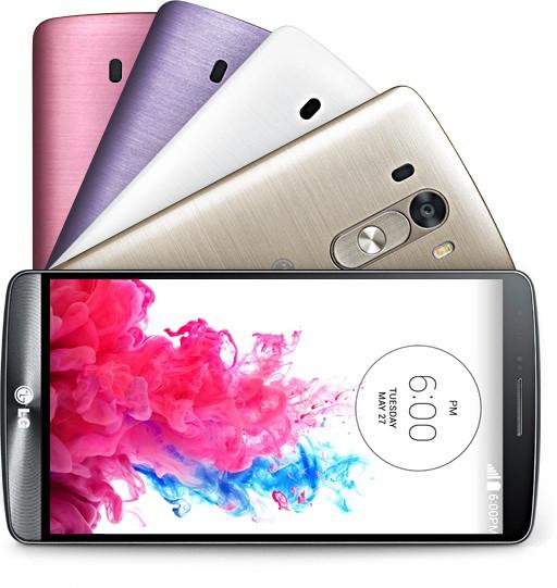 couleur LG G3 - LG G3 est officiellement dévoilé