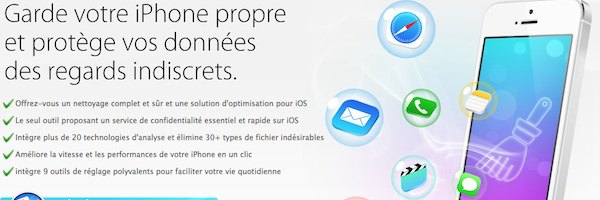 iphone propre - Test PhoneClean 2014