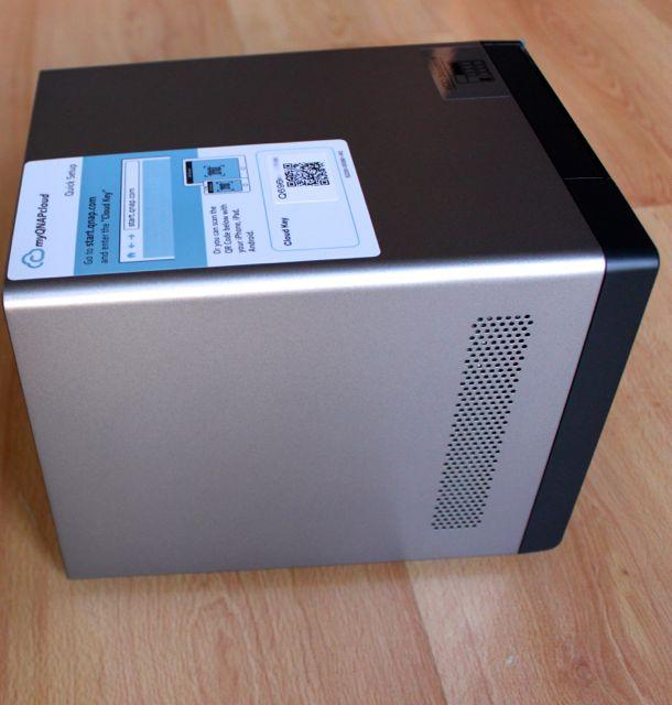 qnap ts 470 pro cote - Test NAS - QNAP TS-470 Pro, époustouflant !