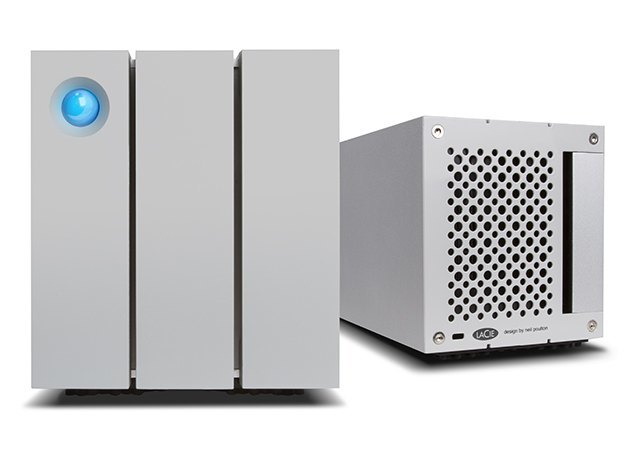 2big TBT2 front back - LaCie lance le 2big Thunderbolt 2