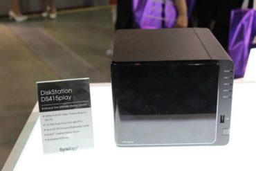 DiskStation DS415play 370x247 - Synology DS215air et DS415play font leur show au Computex