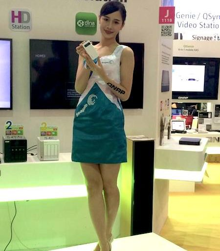 QNAP QGenie 450x513 - QNAP QGenie, le NAS mobile