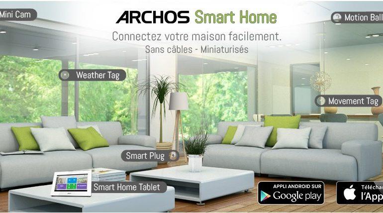 archos smart home 770x428 - ARCHOS Smart Home est disponible