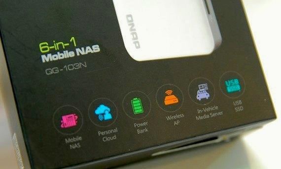 boitier qnap qgenie - QNAP QGenie, le NAS mobile
