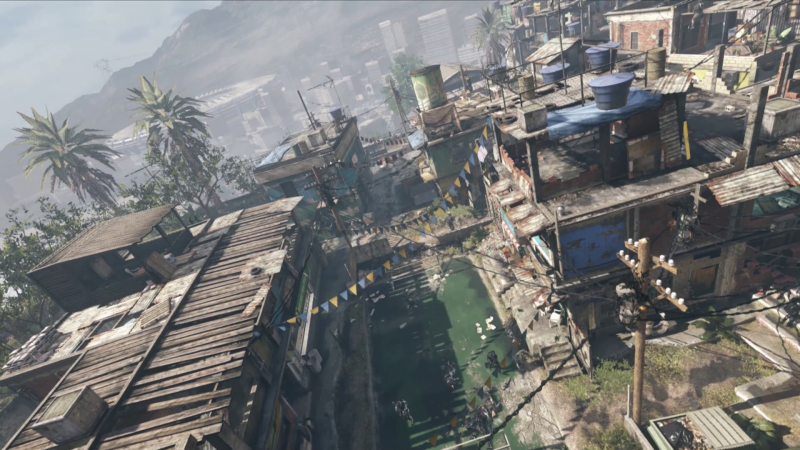 call of duty ghosts Favela