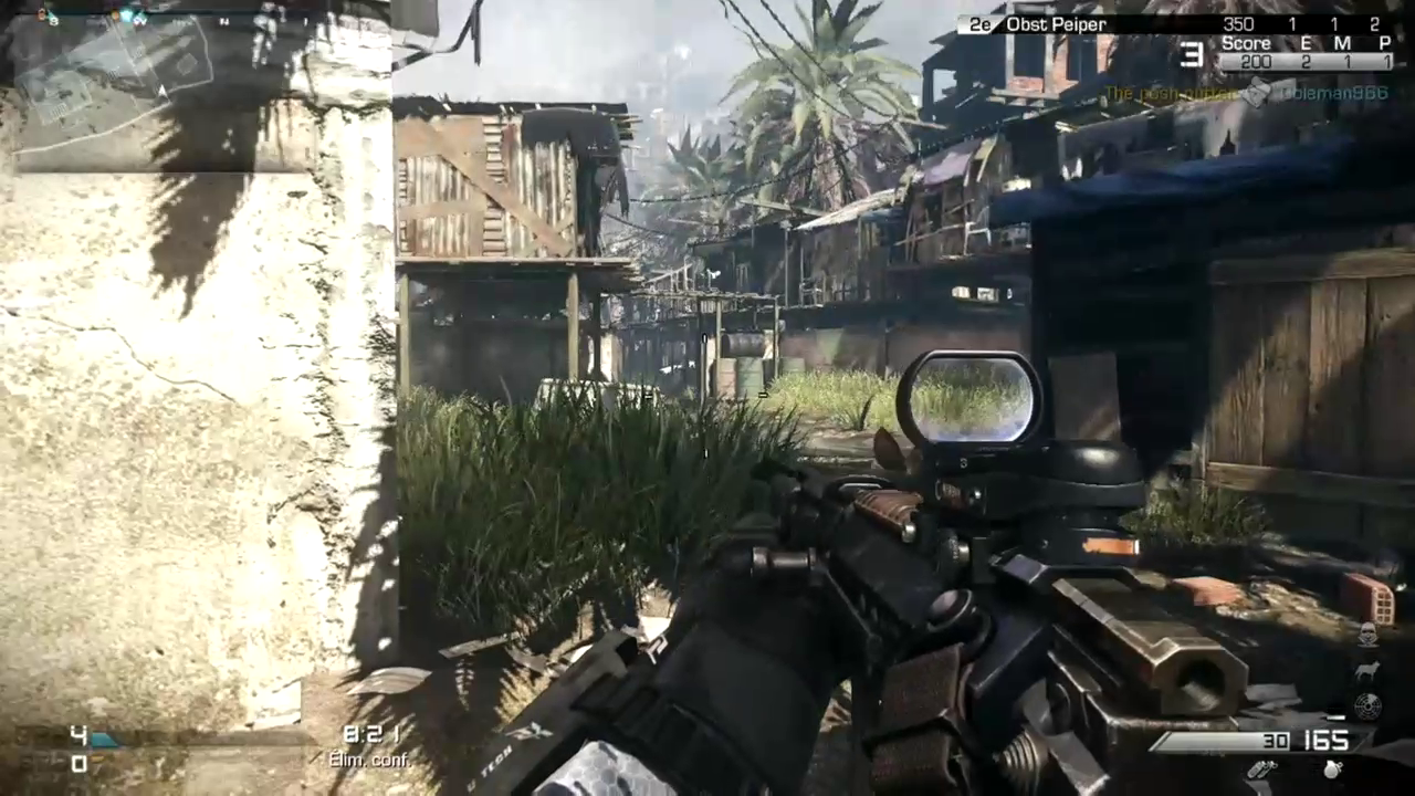 favela - Call of Duty: Ghosts, test du nouveau dlc Invasion