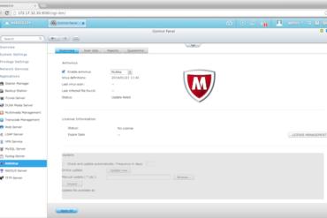 mcafee QNAP 370x247 - IT Management Station et McAfee débarquent chez QNAP