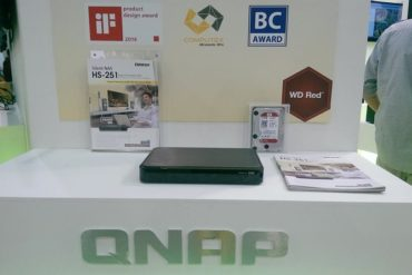 qnap ts 251 370x247 - QNAP HS-251 annoncé : NAS et lecteur multimédia