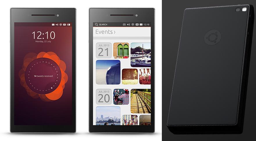 ubuntu edge phone1 - Quoi de neuf du côté des OS de nos chers smartphones ?