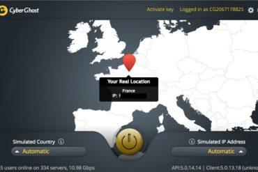 CyberGhost start 370x247 - Test du VPN CyberGhost