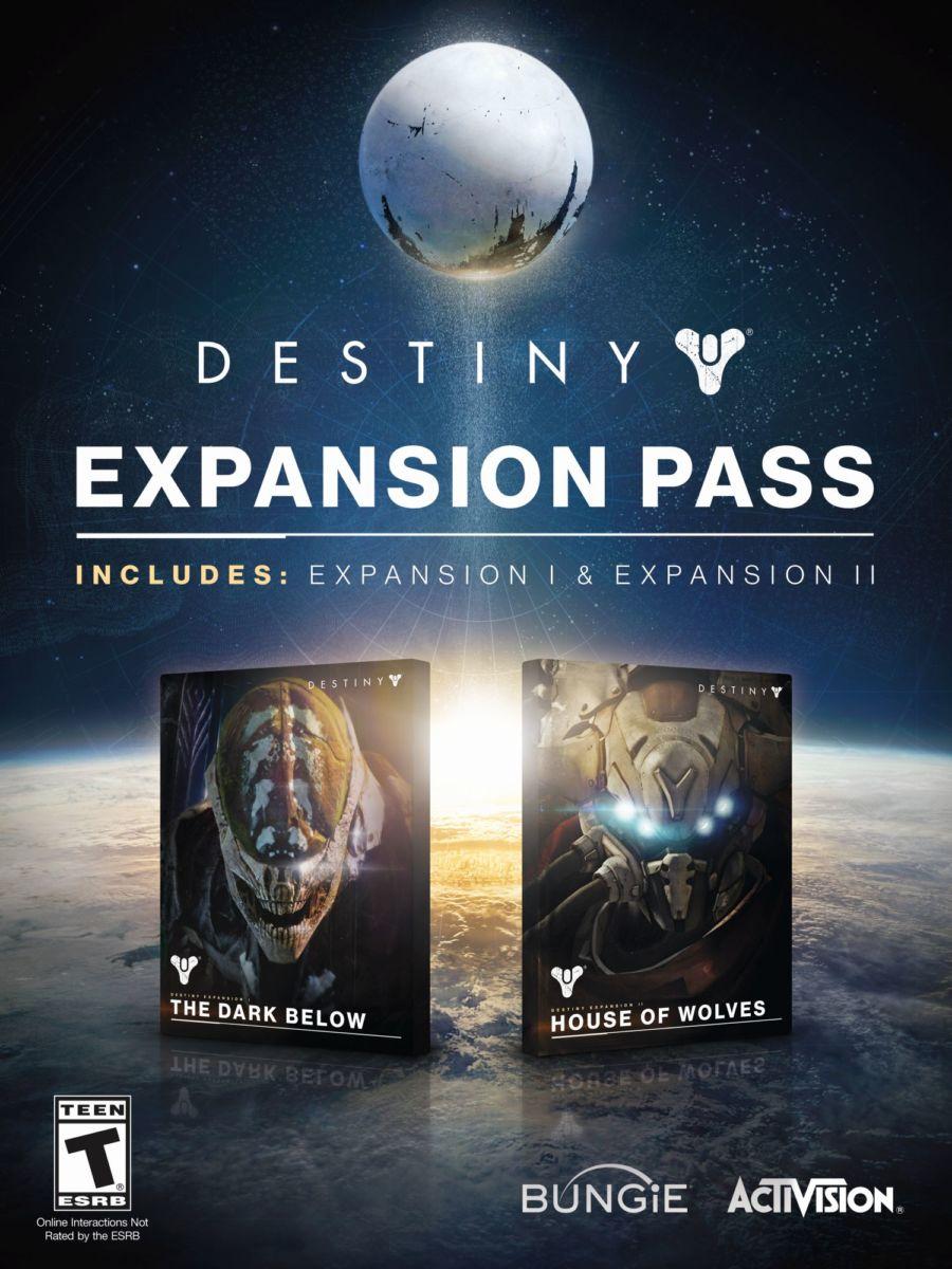 Destiny Expansion Pass info sheet - Béta du jeu Destiny