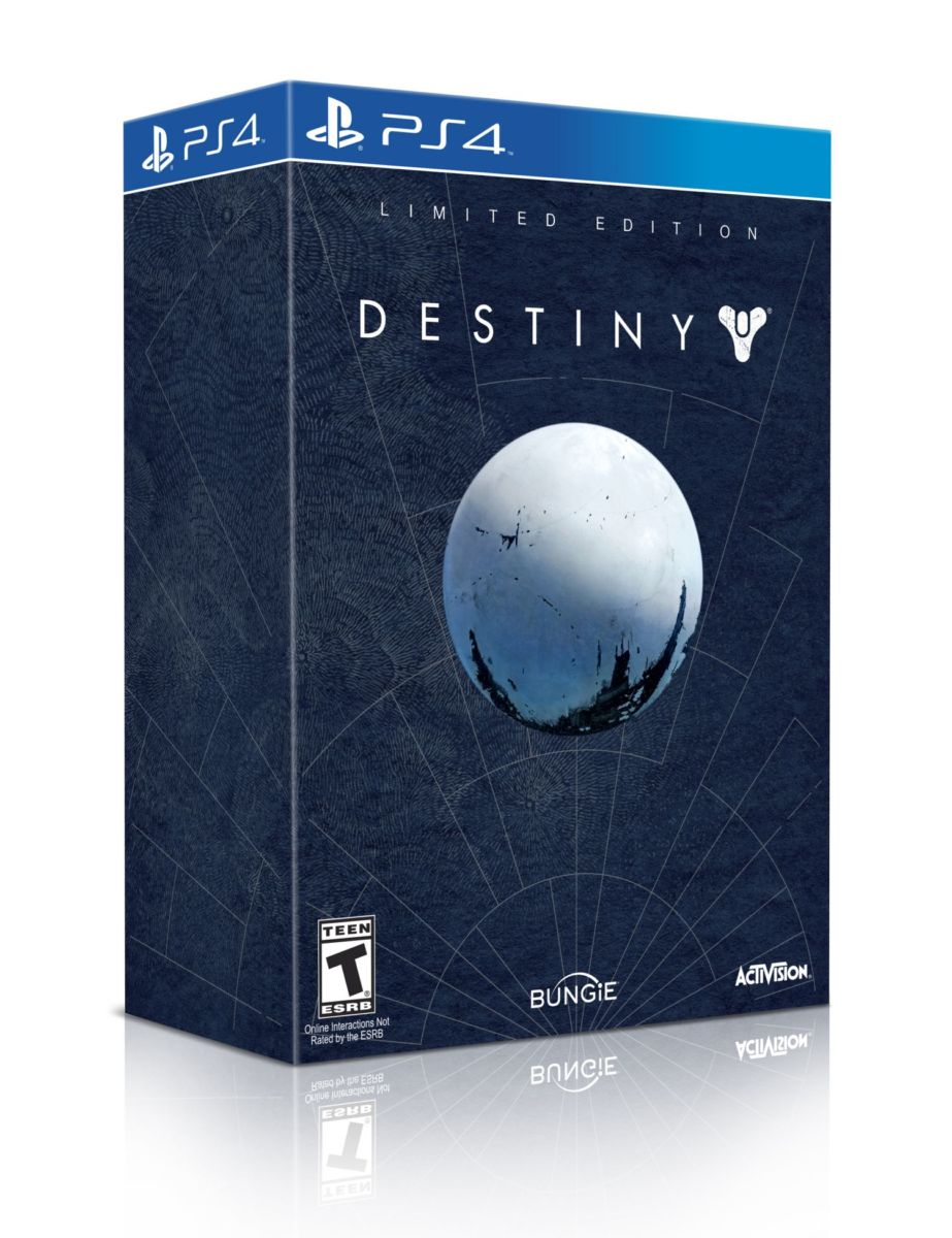 Destiny PS4 Limited Edition packshot - Béta du jeu Destiny