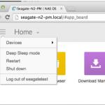 NAS OS 4 Menu 150x150 - Seagate lance 5 nouveaux NAS