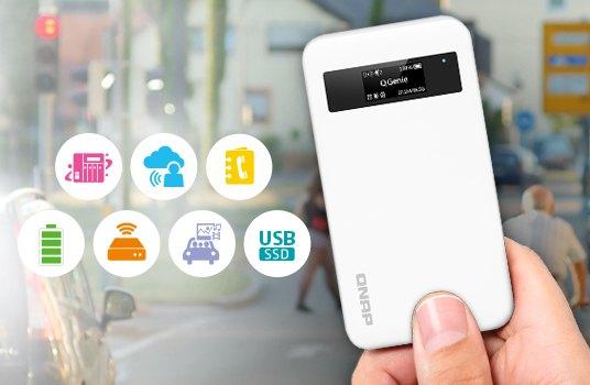QGenie QG 103N - QNAP lance son NAS mobile QGenie
