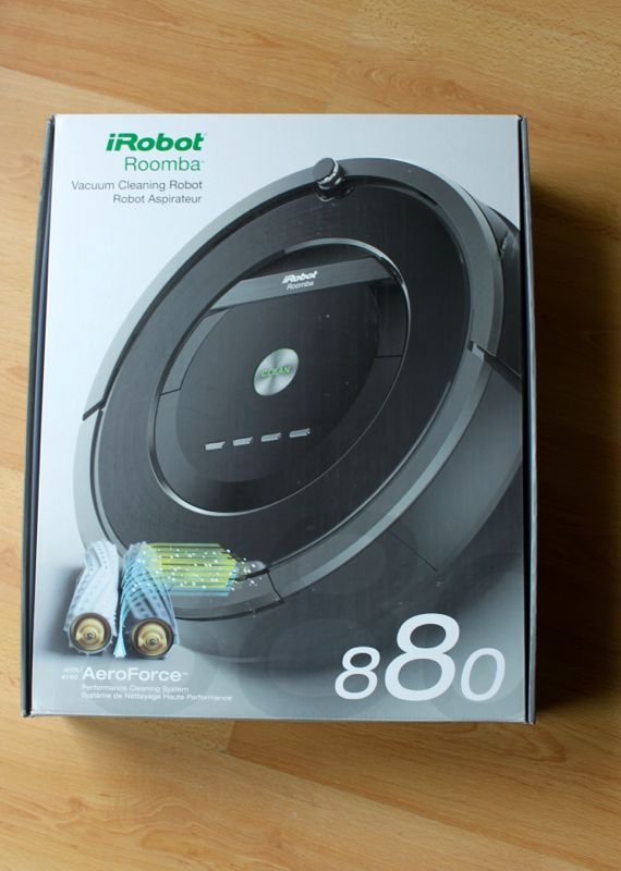 Roomba 8801 - Test de l'aspirateur robot Roomba 880