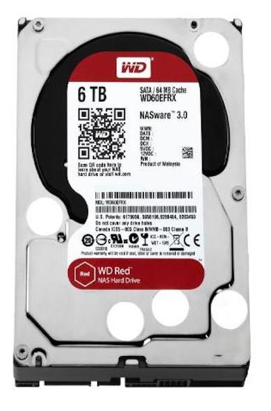 WD RED 6 To1 - WD lance un disque pour NAS de 6 To