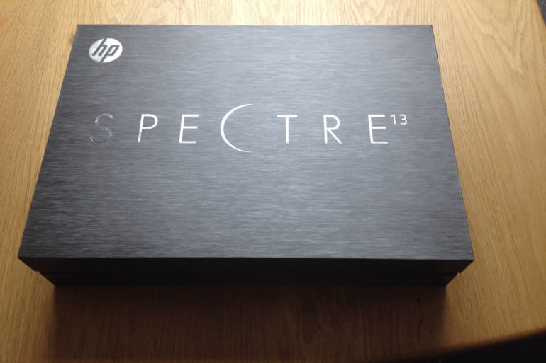 face packaging hp spectre 13 770x513 - Test du HP Ultrabook Spectre 13-3090ef