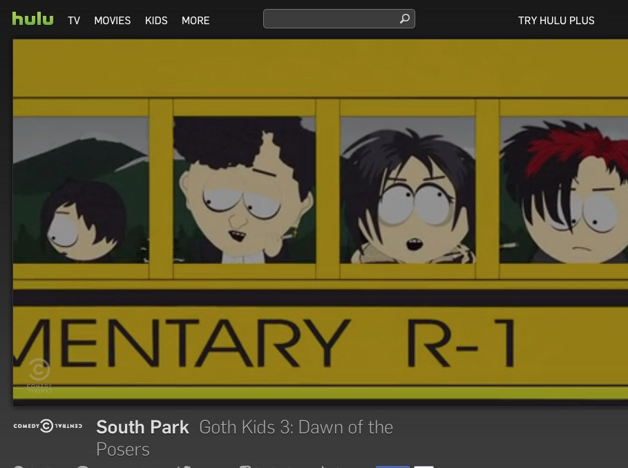 hulu south park - Test du VPN CyberGhost