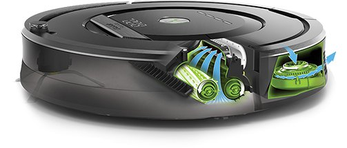 roomba aeroforce - Test de l'aspirateur robot Roomba 880