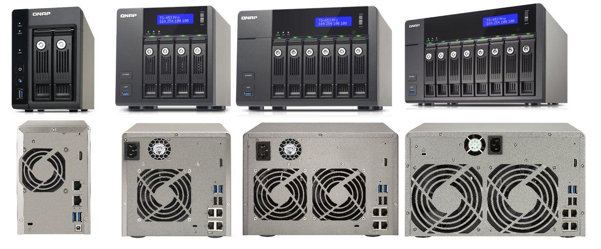 QNAP TS x53 pro - QNAP - 6 nouveaux NAS TS-x53 Pro et SS-x53 Pro