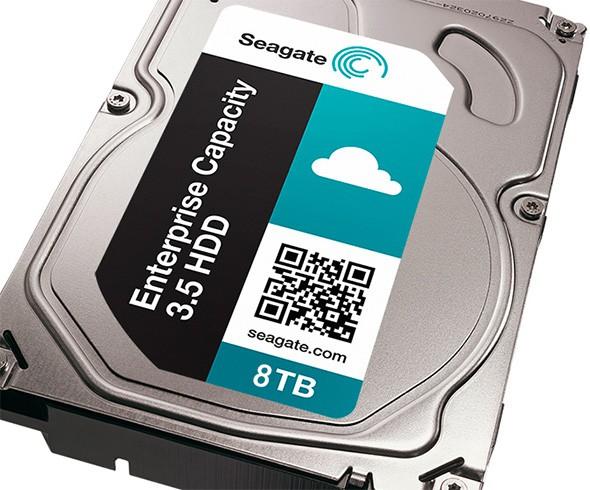 Seagate 8To - Seagate lance un disque dur 8 To