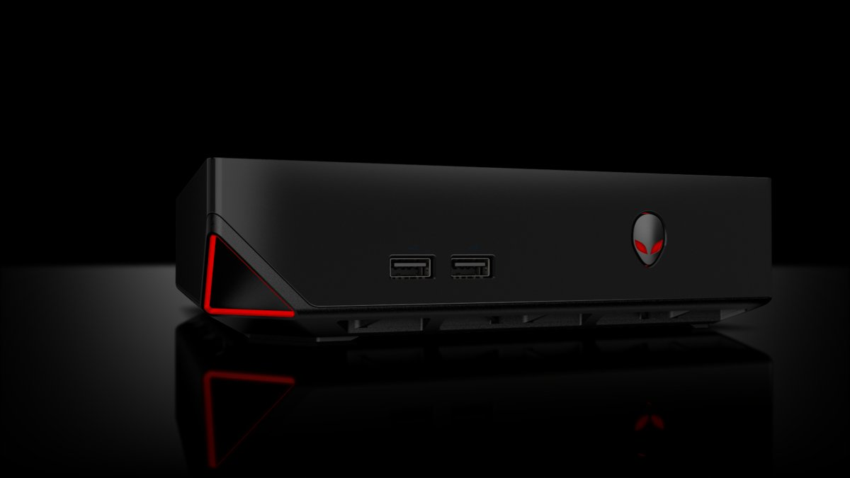 alienware alpha steam machine - La console de salon Alienware Alpha approche à grands pas